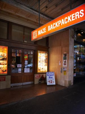Maze Backpackers - Sydney - Melbourne Tourism